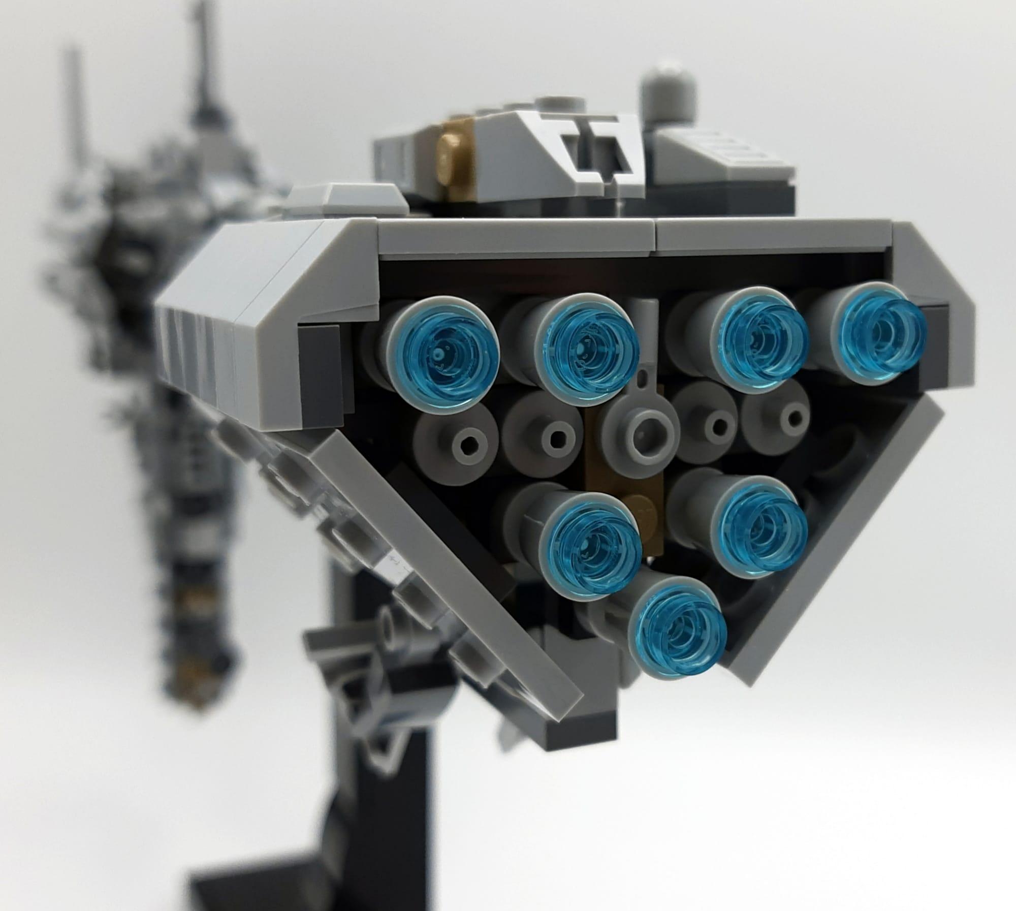 LEGO 77904 Nebulon B - Ansicht Antrieb