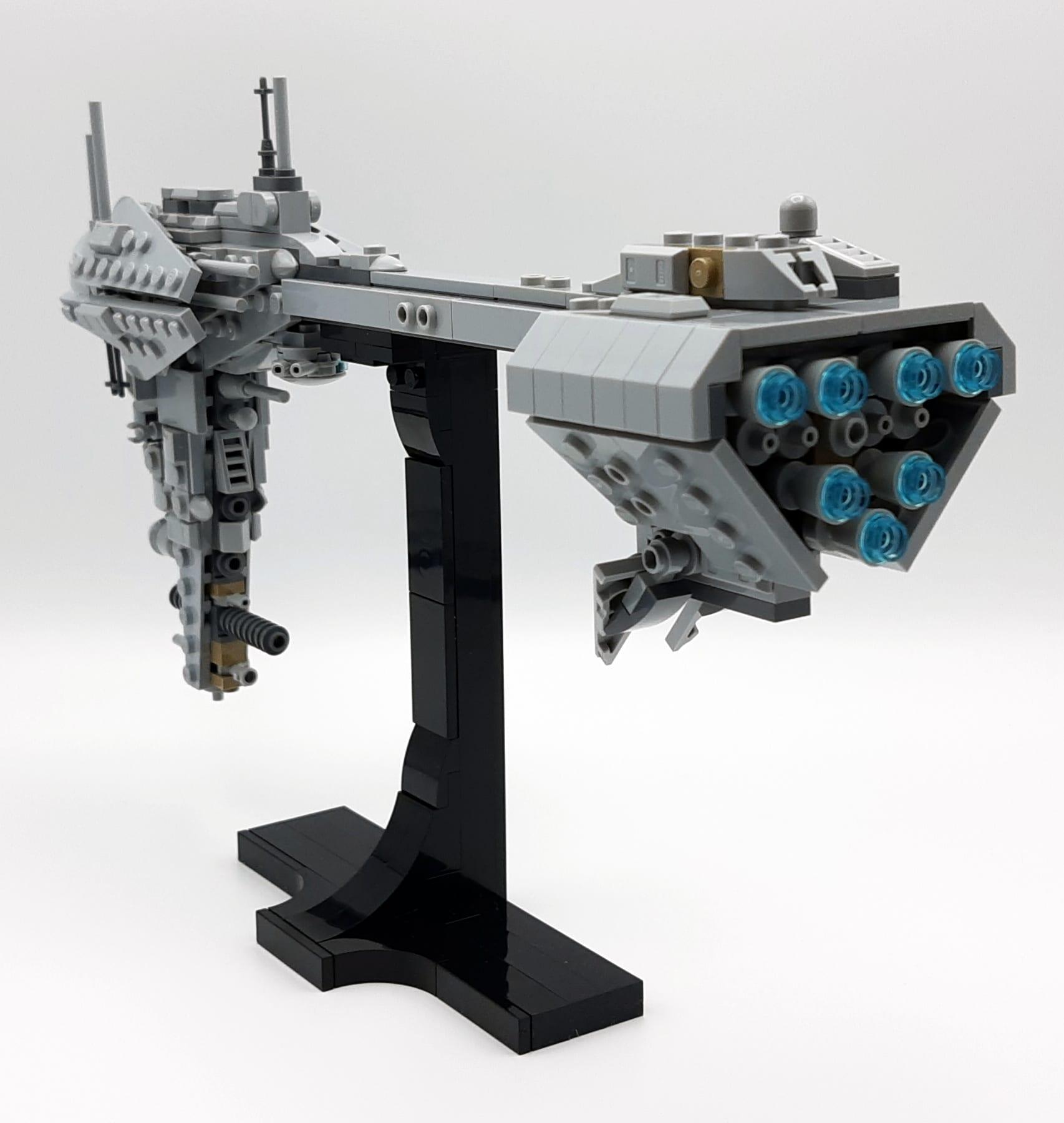 LEGO 77904 Nebulon B - Ansicht Hinten