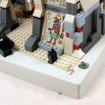 LEGO Adventurers Display Bestandsaufnahme Set Vorderansicht 3