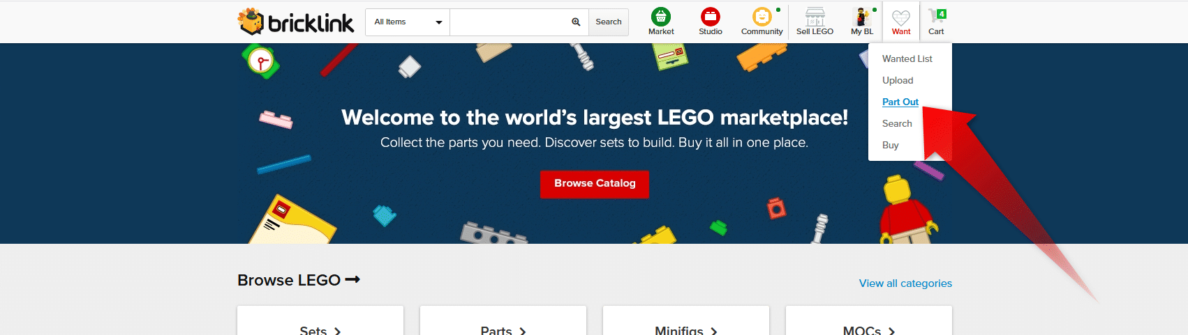LEGO Adventurers Display Fehlende Teile Ermitteln Bricklink Partout