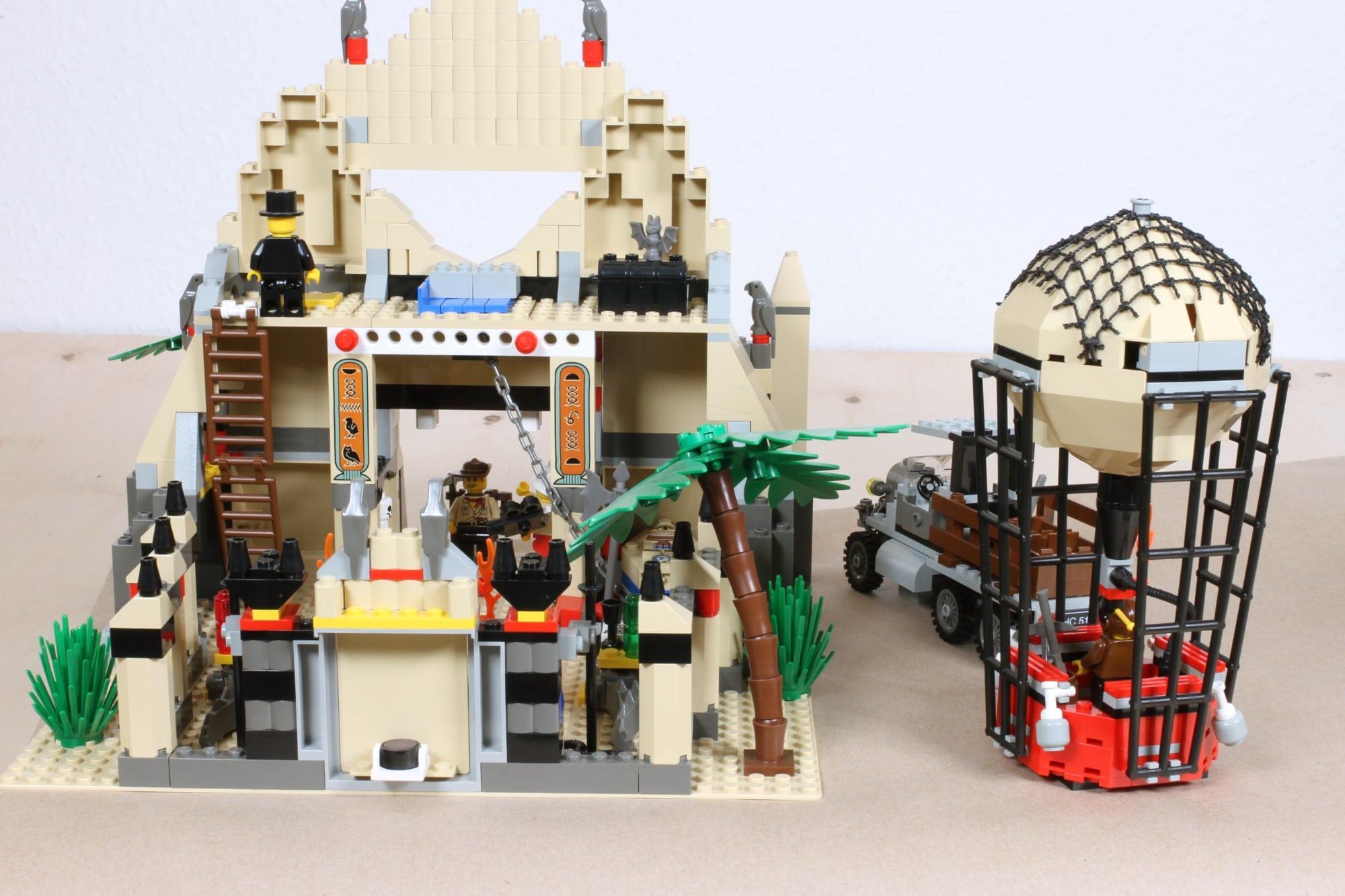LEGO Adventurers Display Sollzustand Nach Restaurierung 2