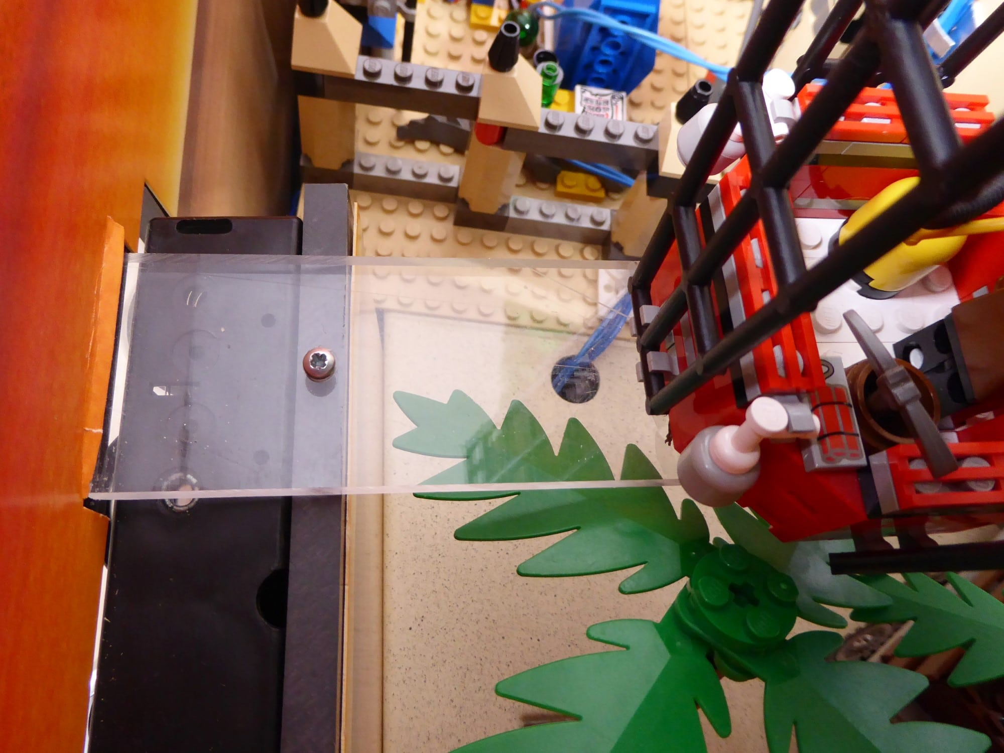 LEGO Adventurers Display Zusammenbau Montage Heißluftballon 2