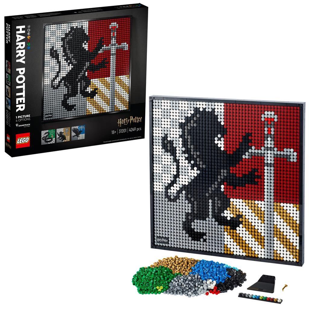 LEGO Art 31201 Harry Potter Hogwarts Mosaik