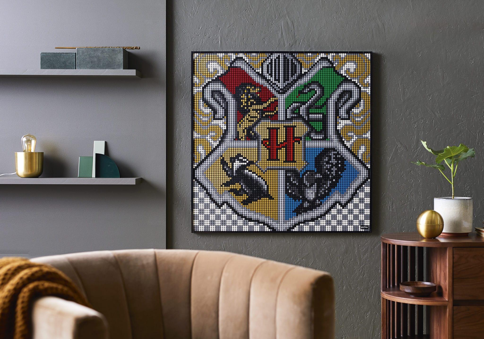 LEGO Art 31201 Harry Potter Mosiak Hogwarts Wappen (2)