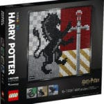 LEGO Art 31201 Harry Potter Mosiak Hogwarts Wappen (3)