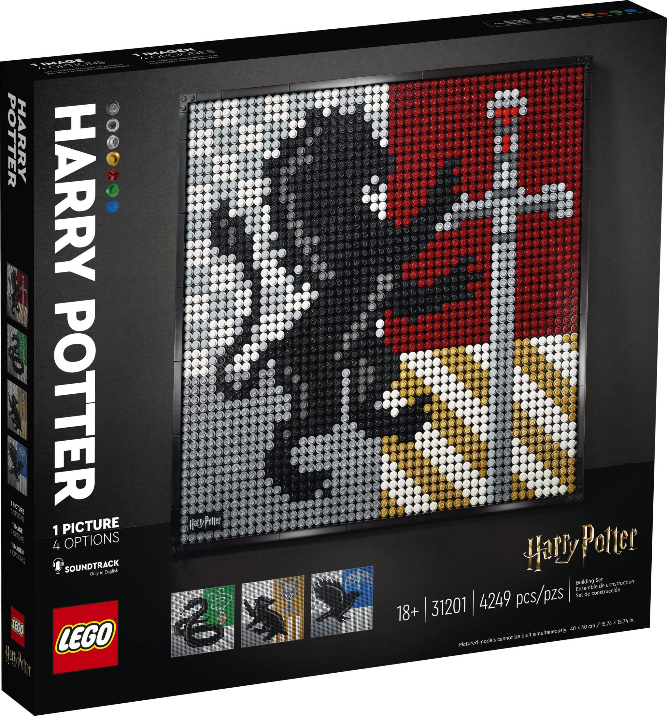 LEGO Art 31201 Harry Potter Mosiak Hogwarts Wappen (3)