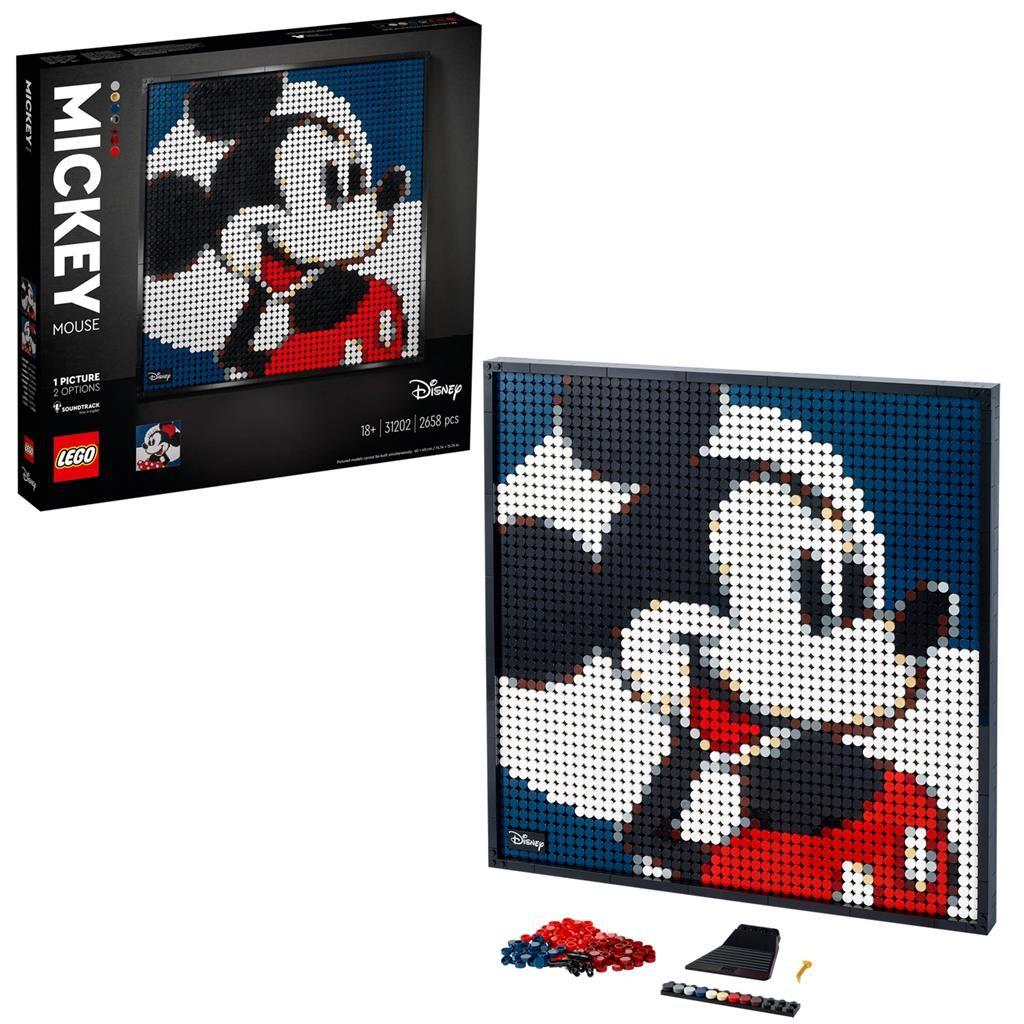 LEGO Art 31202 Disney Mickey Minnie