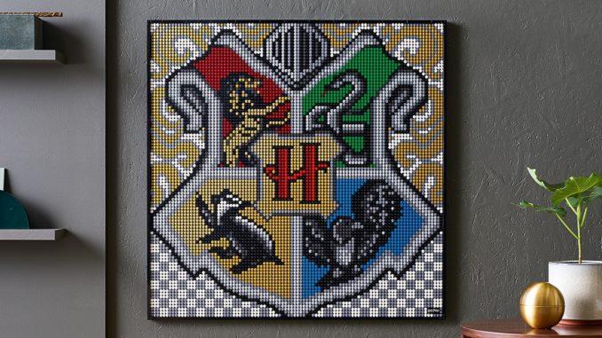 LEGO Art Harry Potter 31201 Hogwarts Wappen