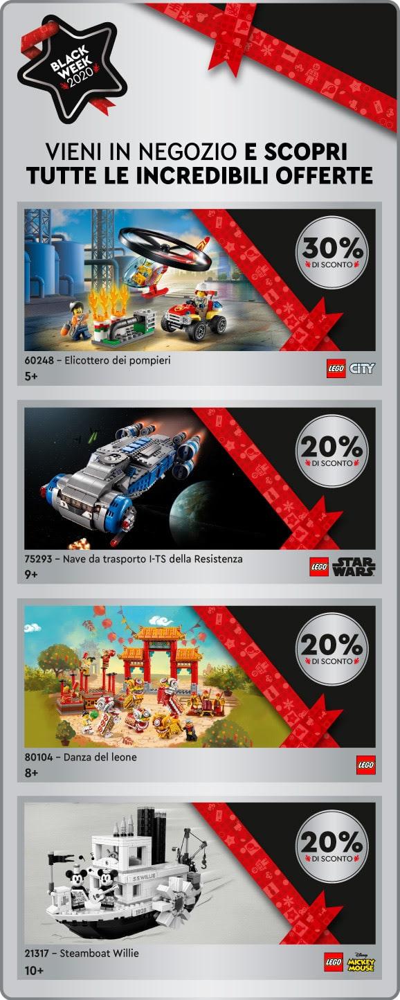 LEGO Black Friday 2020 Rabatte LEGO Certified Store Italien