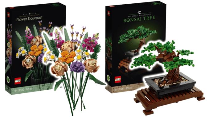 LEGO Botanical Collection: Bonsai und Blumenstrauß