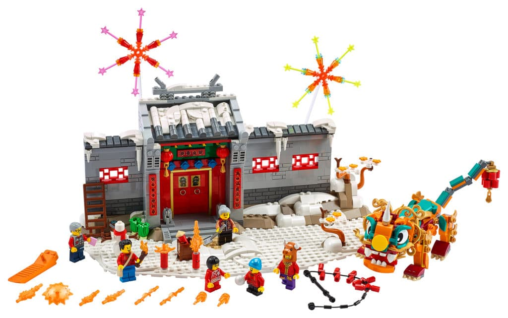 LEGO Chinese New Year 80106 Story Of Nian