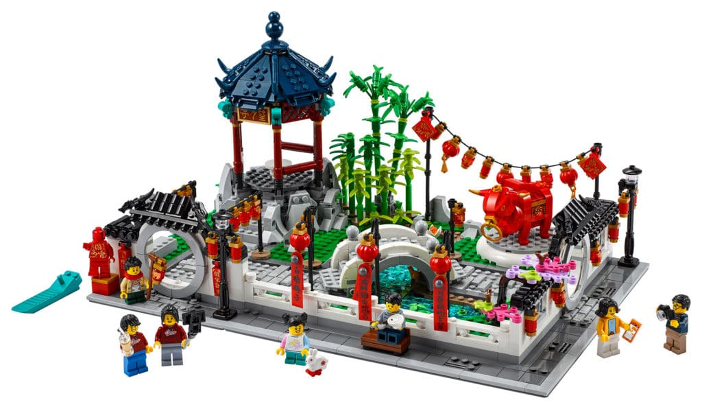 LEGO Chinese New Year 80107 Spring Lantern Festival