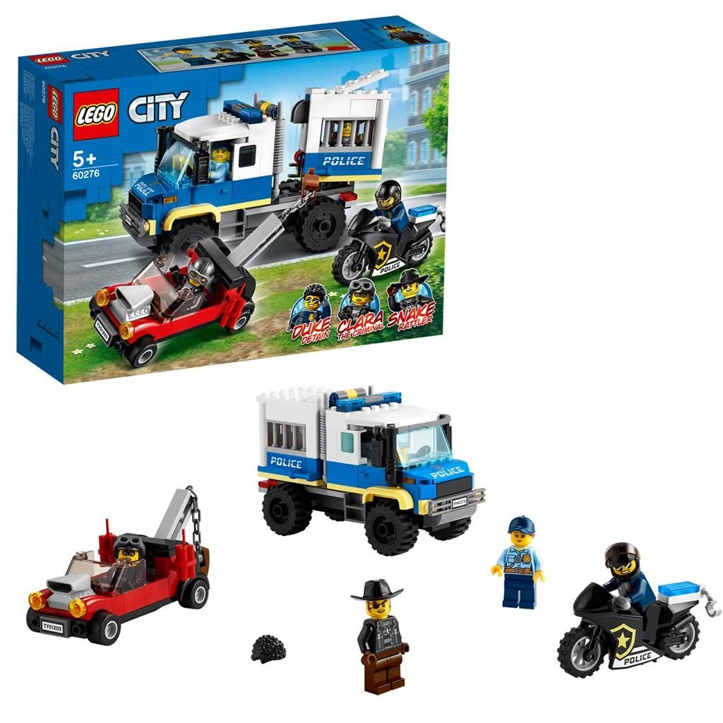 LEGO City 60276 Prisoner Transport