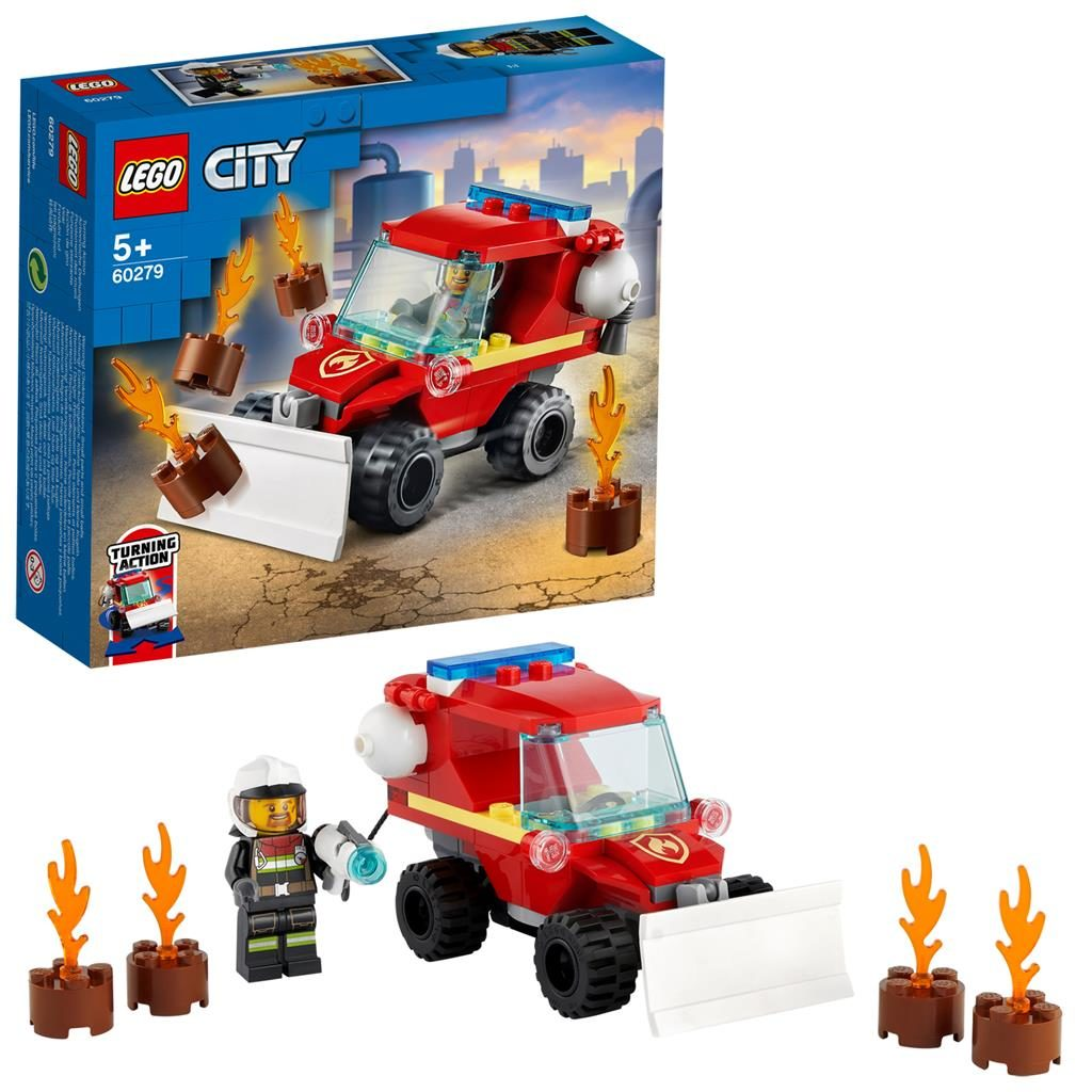 LEGO City 60279 Fire Hazard Truck