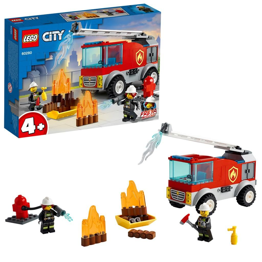 LEGO City 60281 Fire Ladder Truck