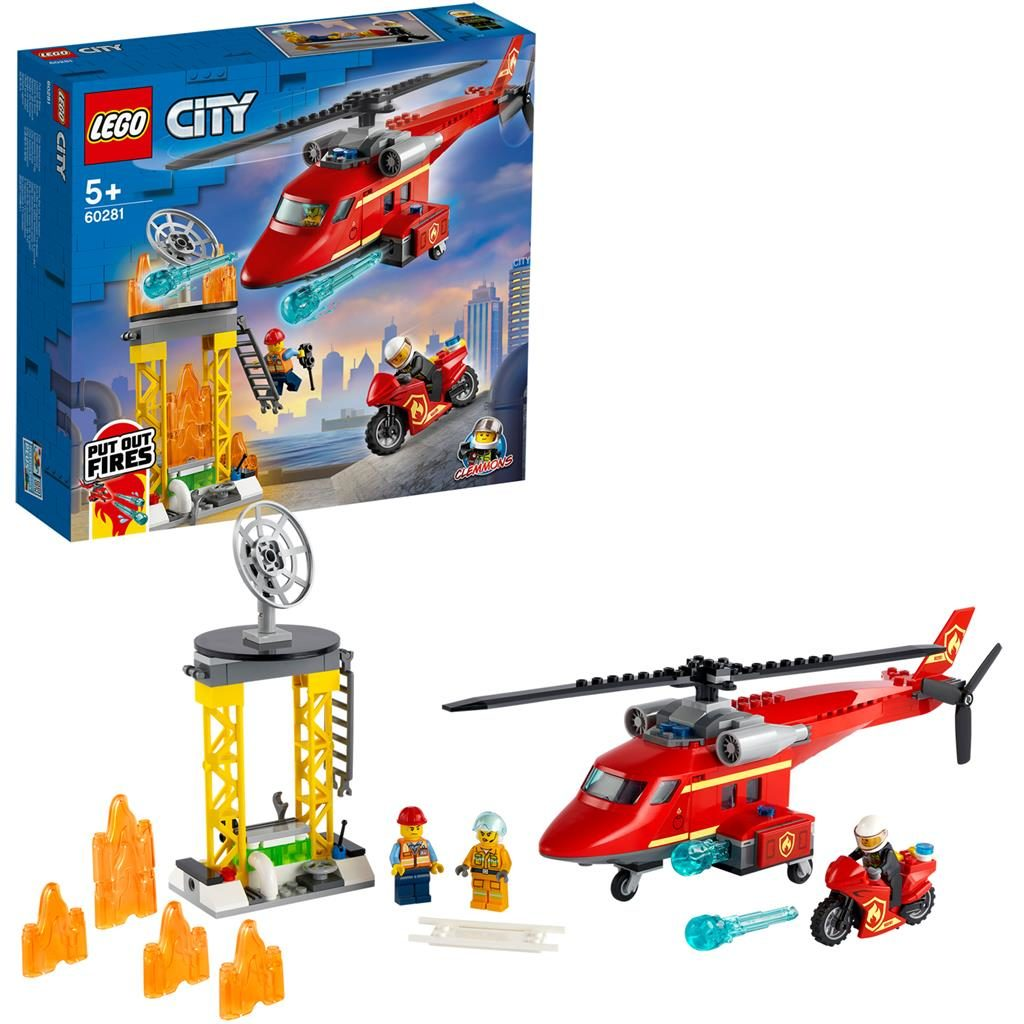 LEGO City 60281 Fire Rescue Helicopter