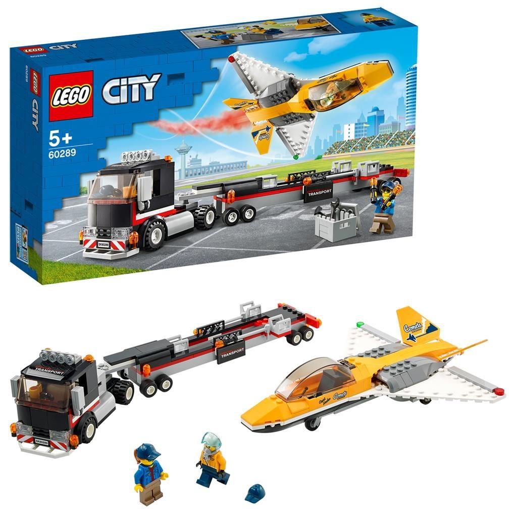LEGO City 60289 Airshow Jet Transporter