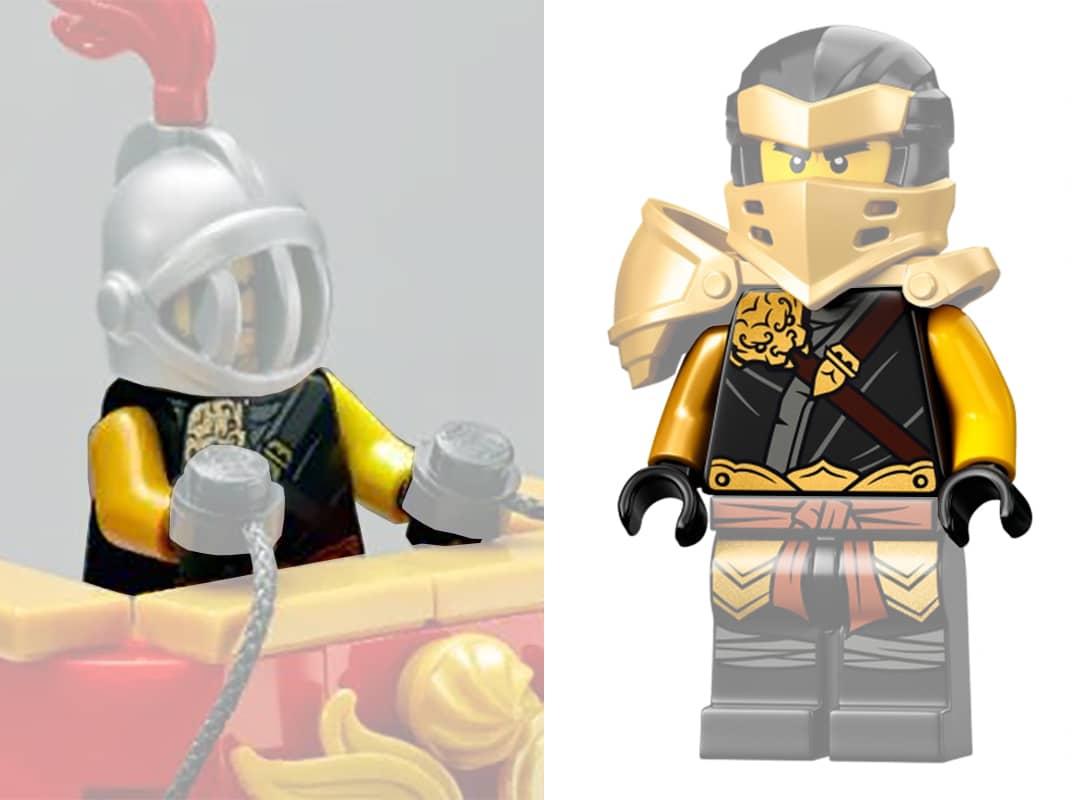 LEGO Colosseum Streitwagen Torso