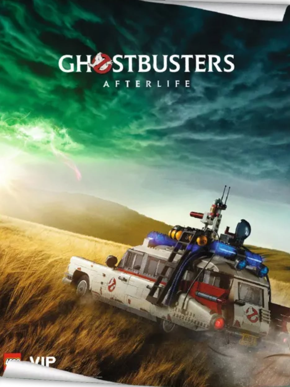 LEGO Ghostbusters Vip Poster