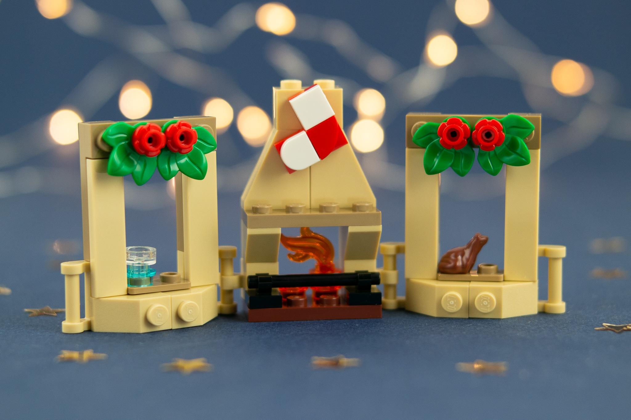 LEGO Harry Potter 75981 Kalender Kamin