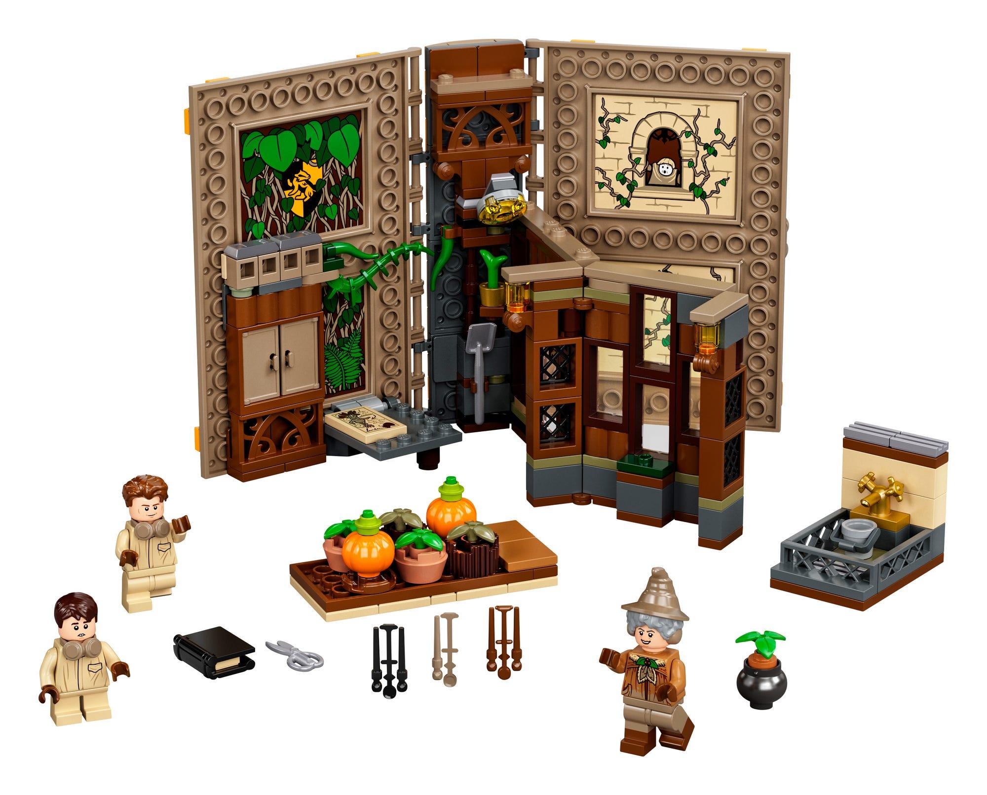 LEGO Harry Potter 76384 Kräuterkundeunterricht (1)