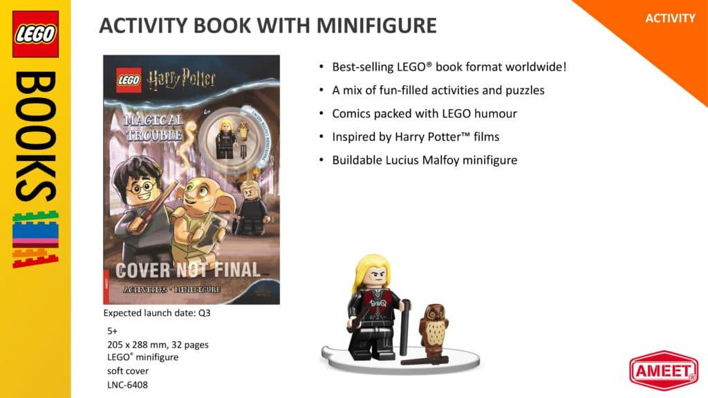 LEGO Harry Potter Ameet 2021 Lucius Malfoy Minifigur