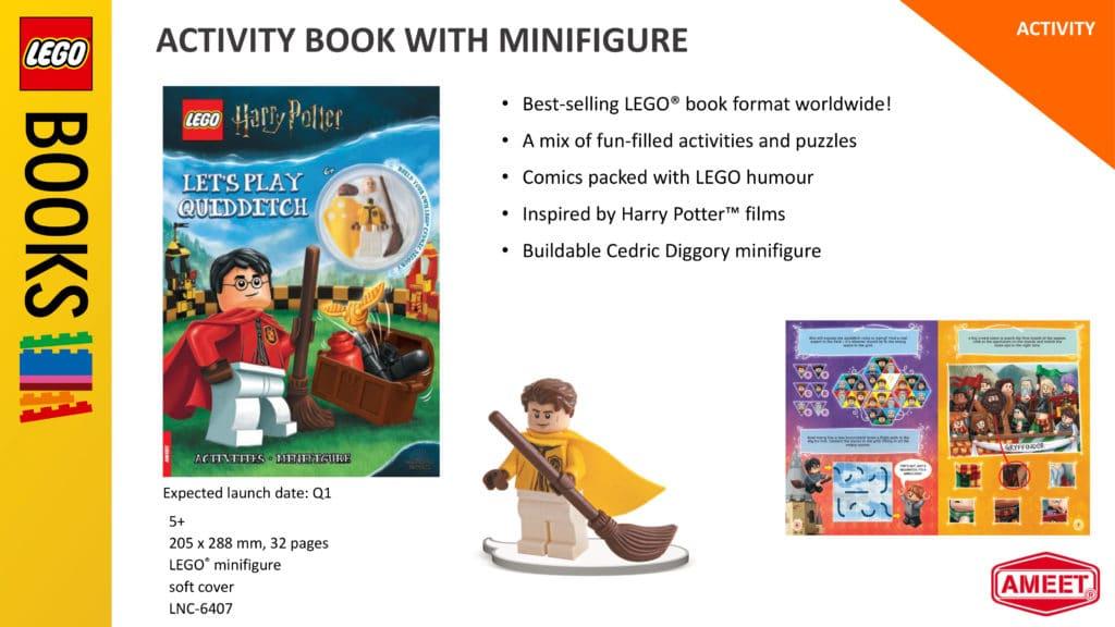 LEGO Harry Potter Ameet 2021 Cedric Diggory Minifigur