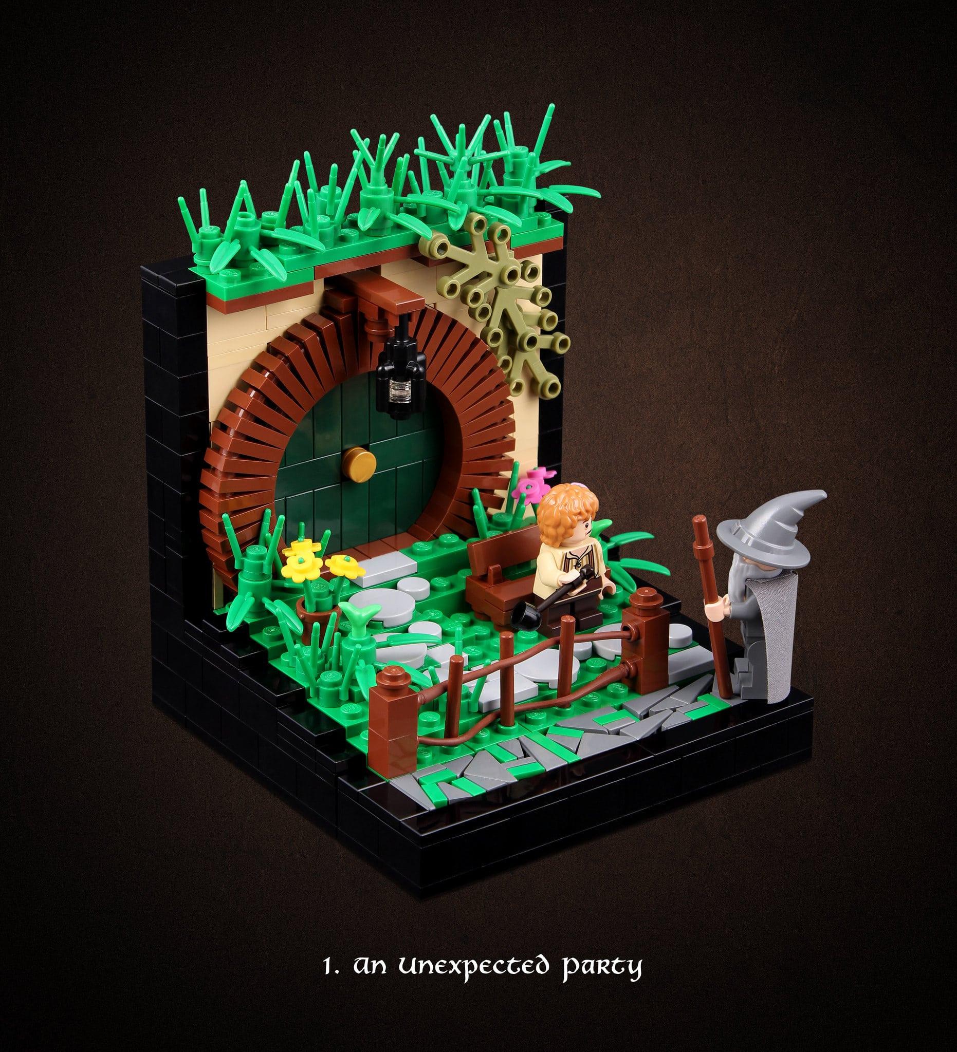 LEGO Hobbit Thorsten Bonsch Vignetten Serie (1)