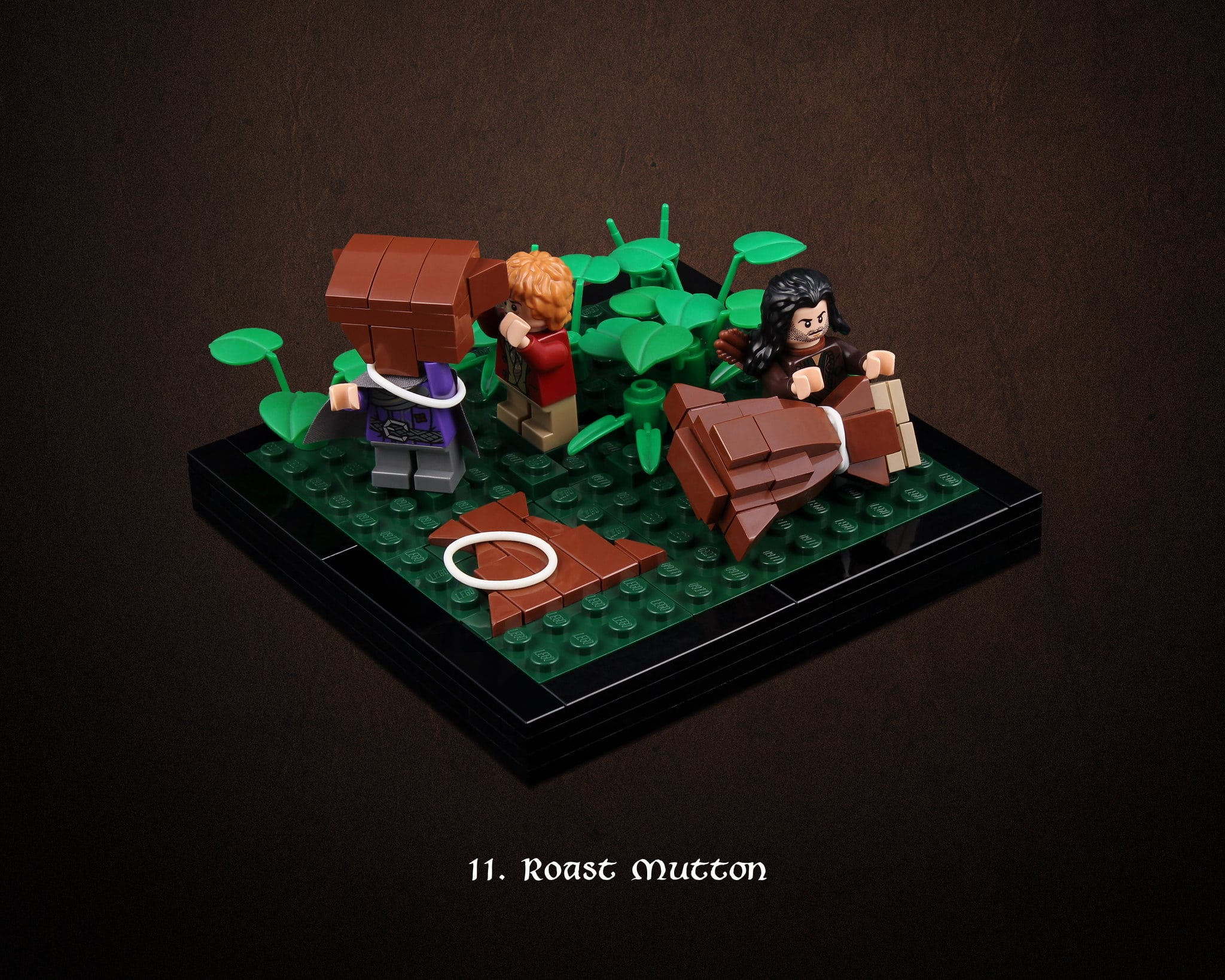 LEGO Hobbit Thorsten Bonsch Vignetten Serie (11)