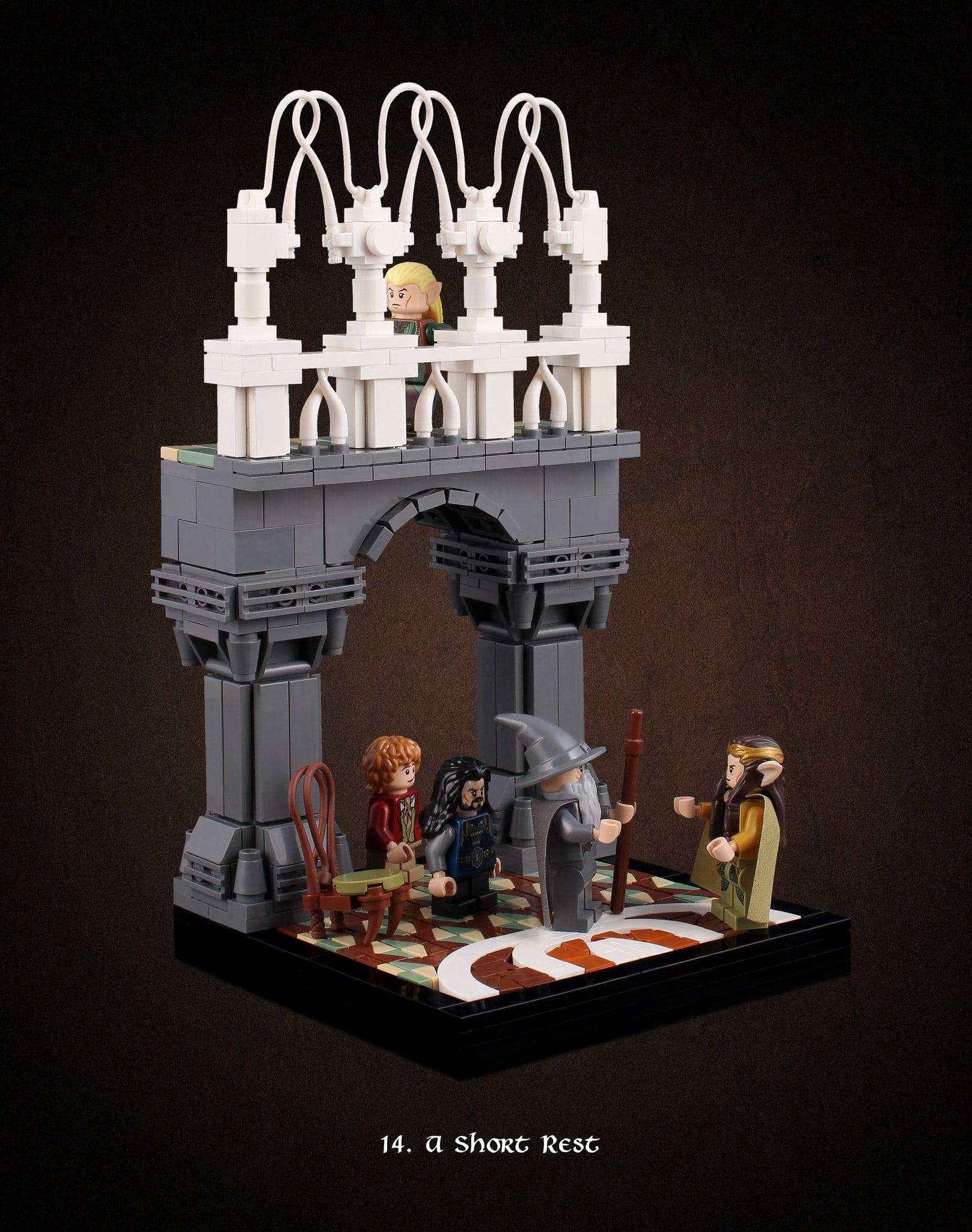 LEGO Hobbit Thorsten Bonsch Vignetten Serie (14)