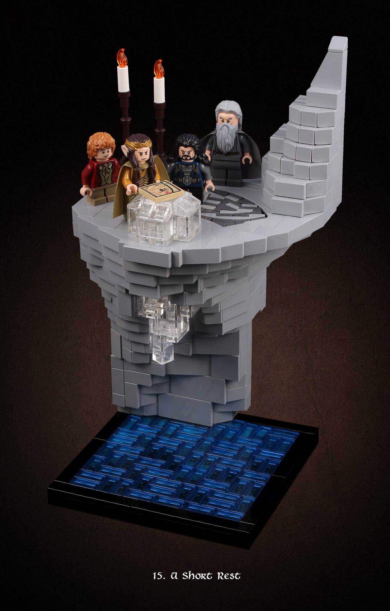 LEGO Hobbit Thorsten Bonsch Vignetten Serie (15)