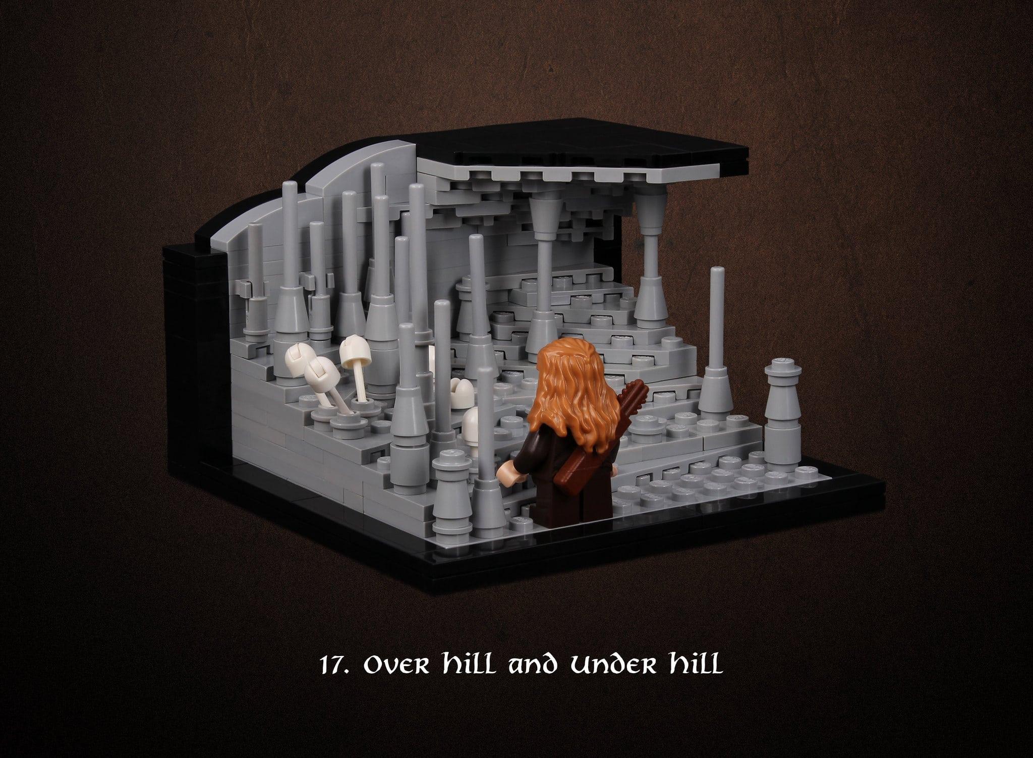 LEGO Hobbit Thorsten Bonsch Vignetten Serie (17)