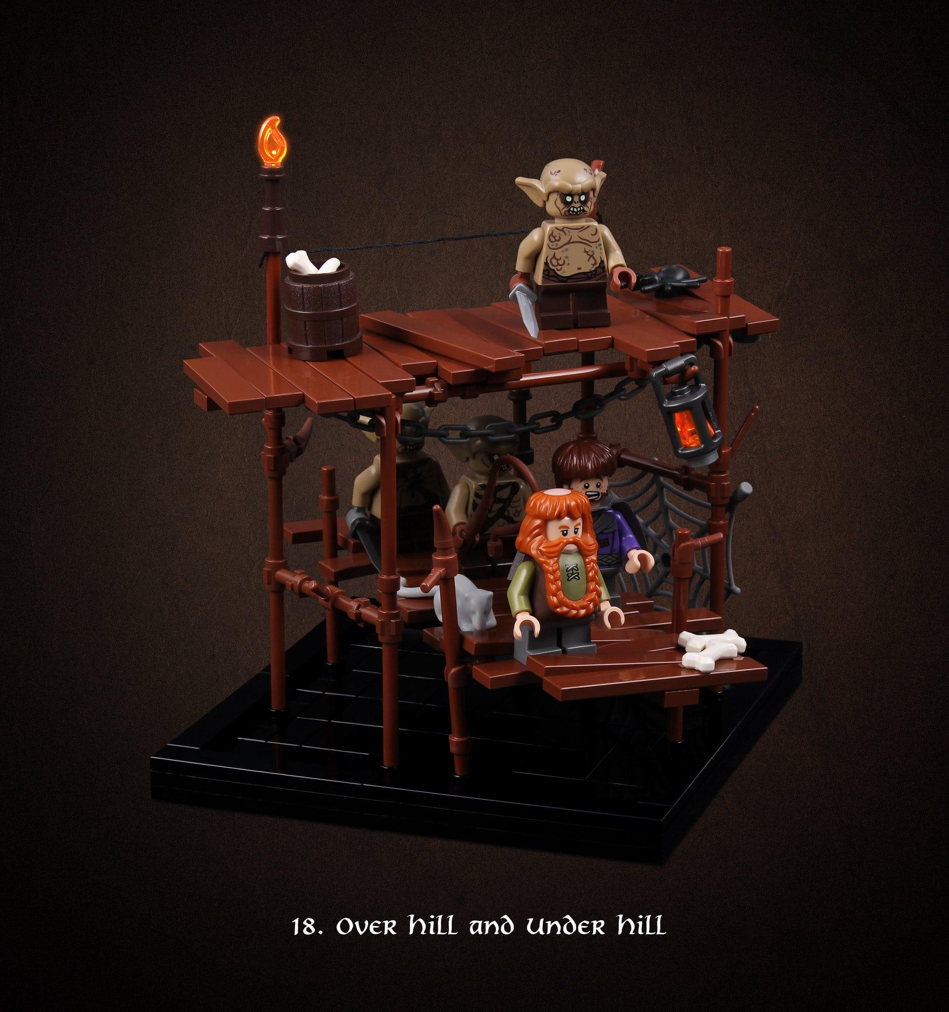 LEGO Hobbit Thorsten Bonsch Vignetten Serie (18)