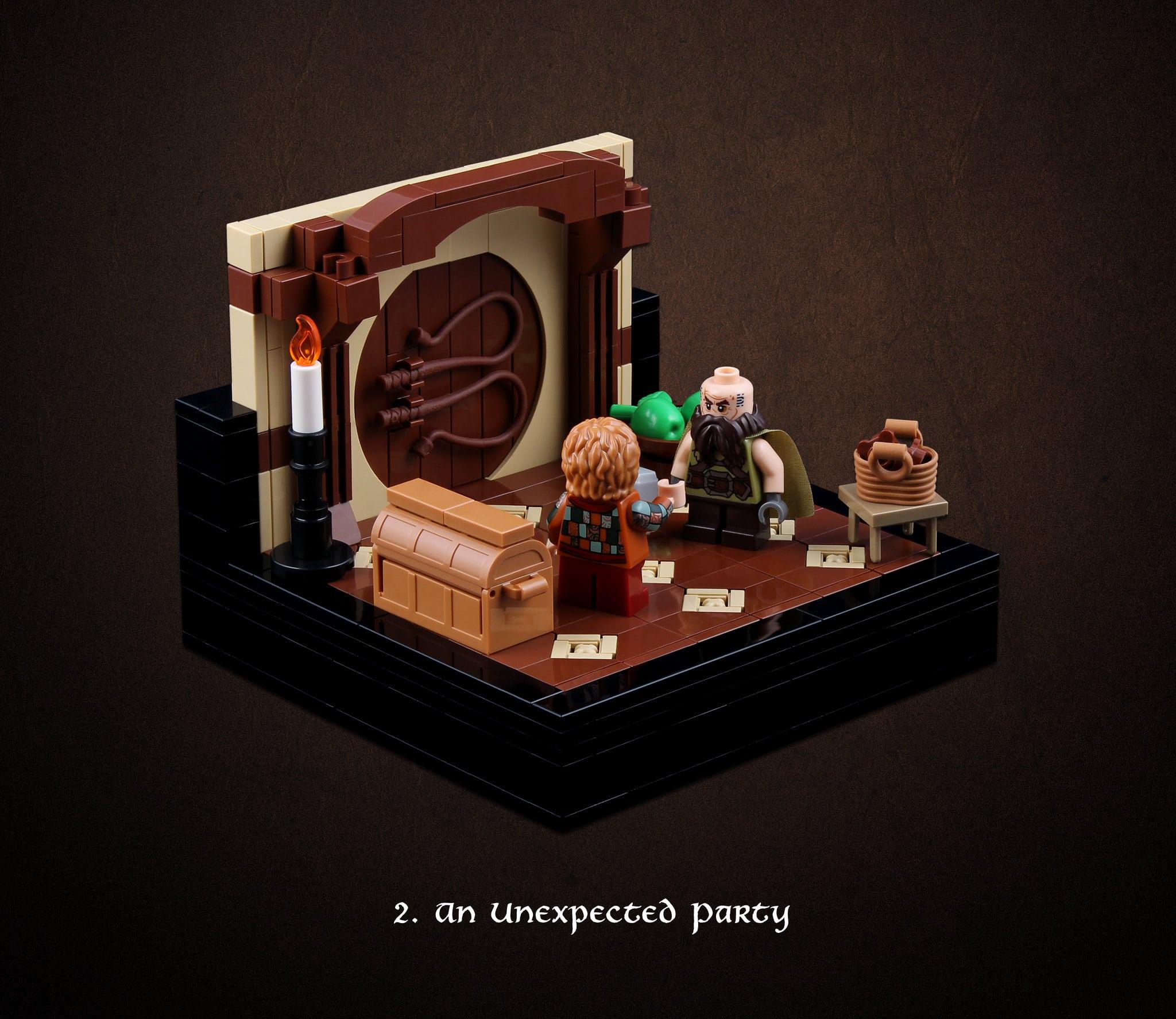 LEGO Hobbit Thorsten Bonsch Vignetten Serie (2)