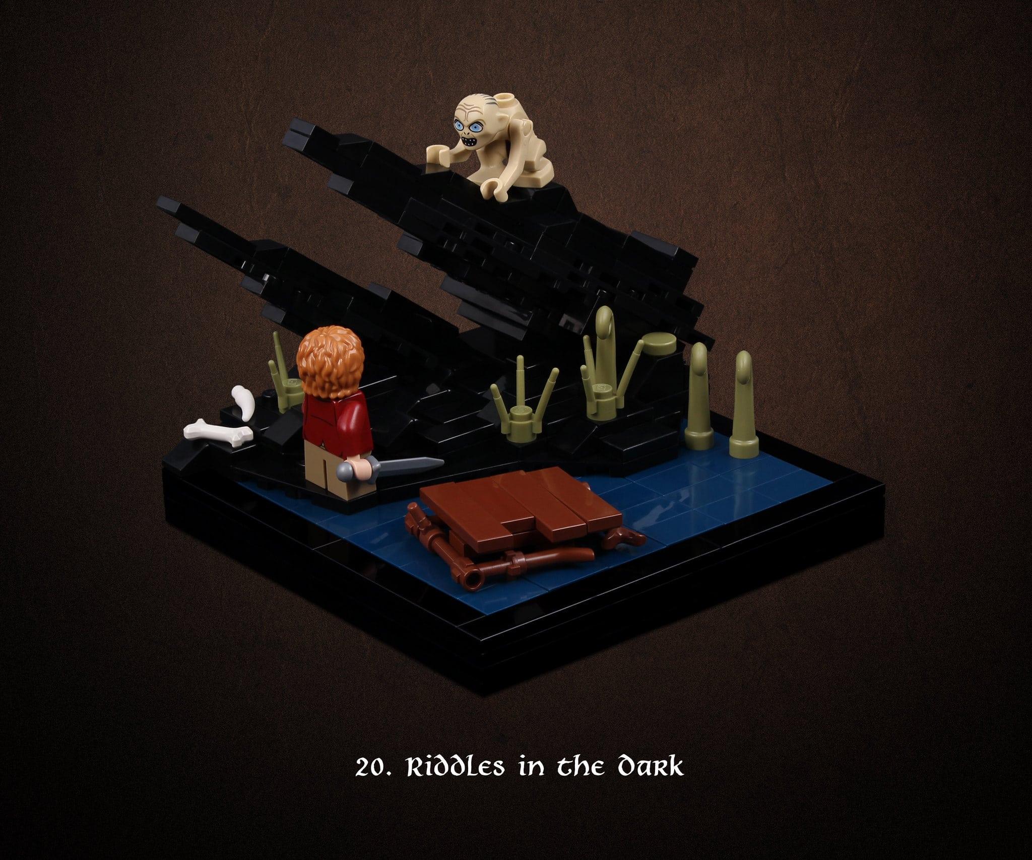LEGO Hobbit Thorsten Bonsch Vignetten Serie (20)