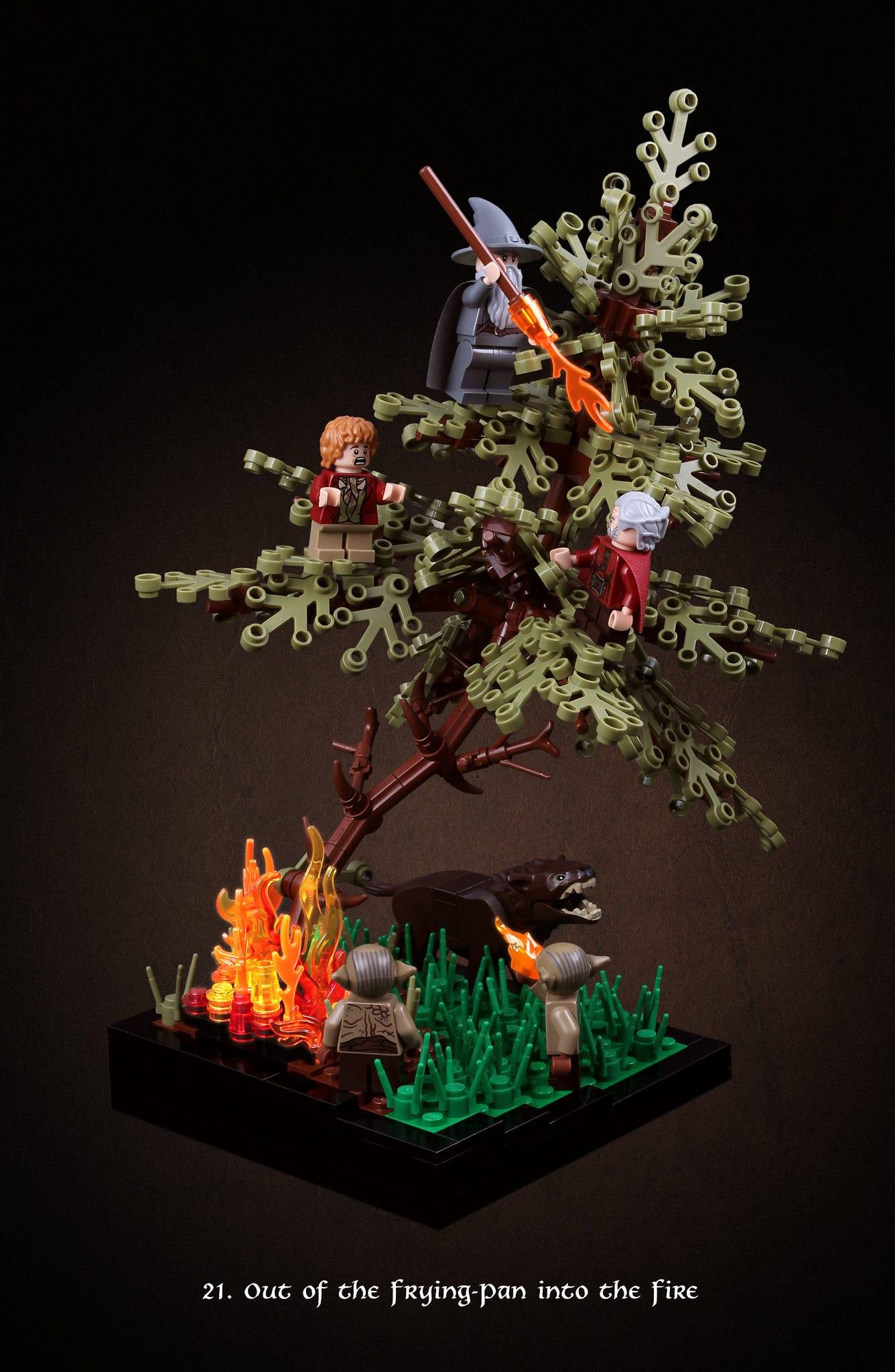 LEGO Hobbit Thorsten Bonsch Vignetten Serie (21)