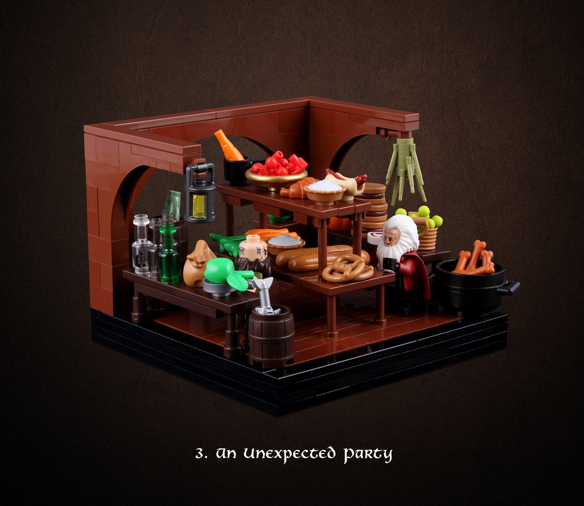 LEGO Hobbit Thorsten Bonsch Vignetten Serie (3)