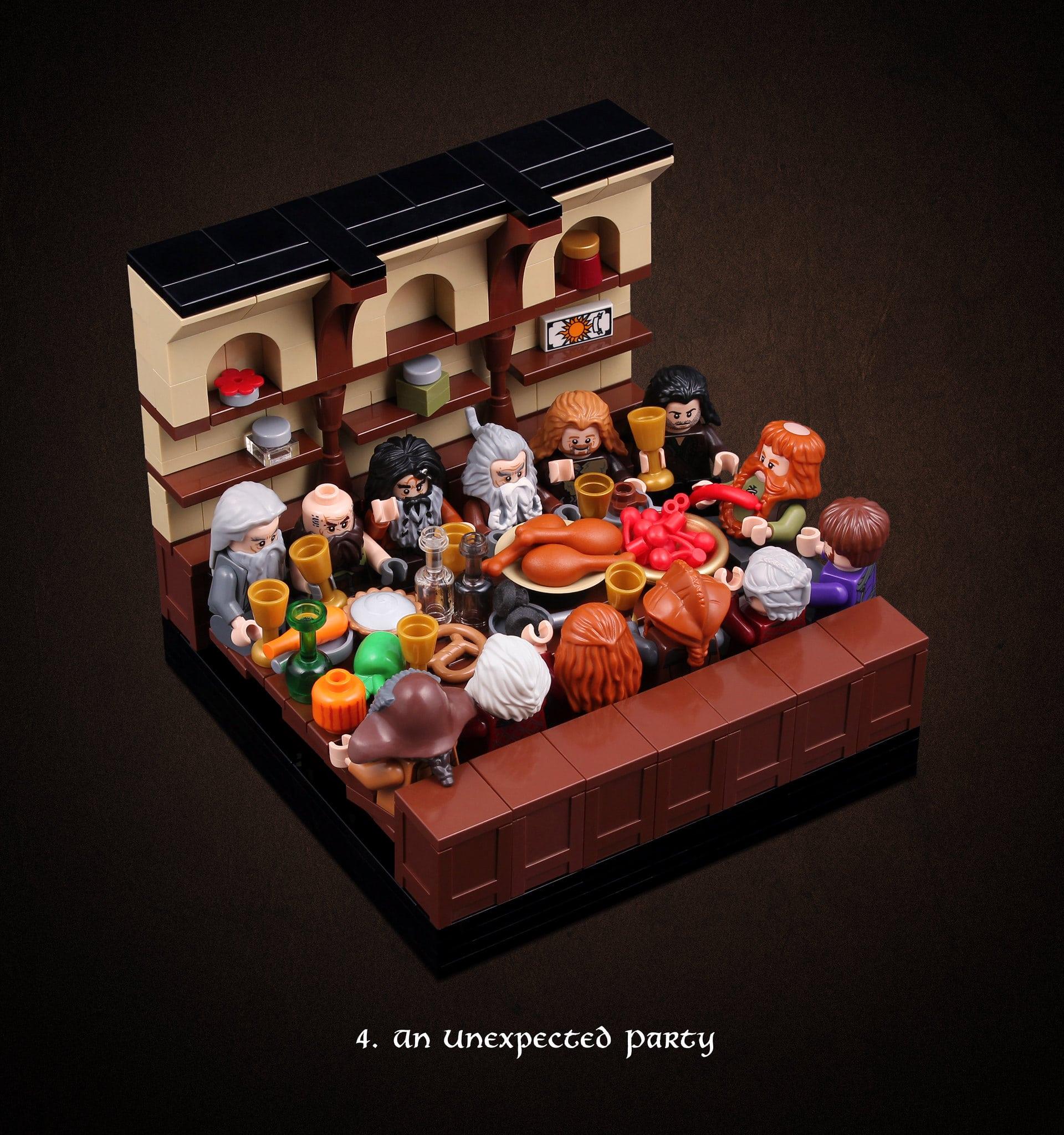 LEGO Hobbit Thorsten Bonsch Vignetten Serie (4)