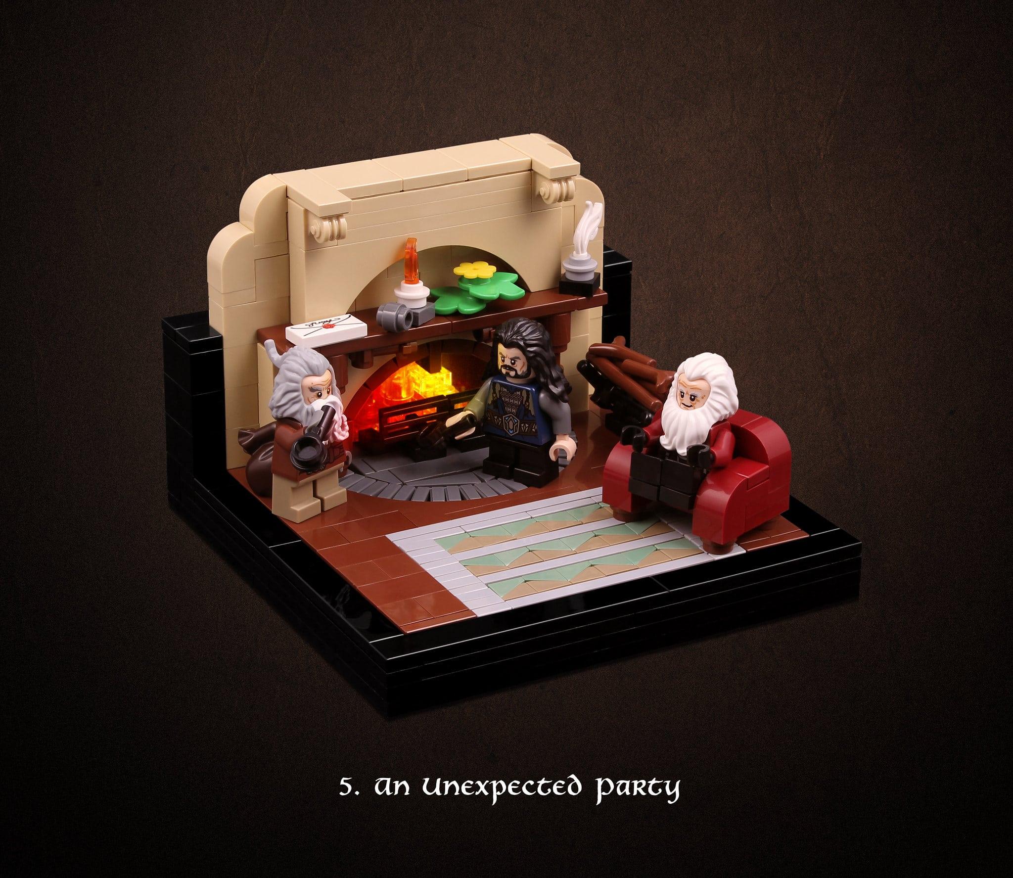 LEGO Hobbit Thorsten Bonsch Vignetten Serie (5)