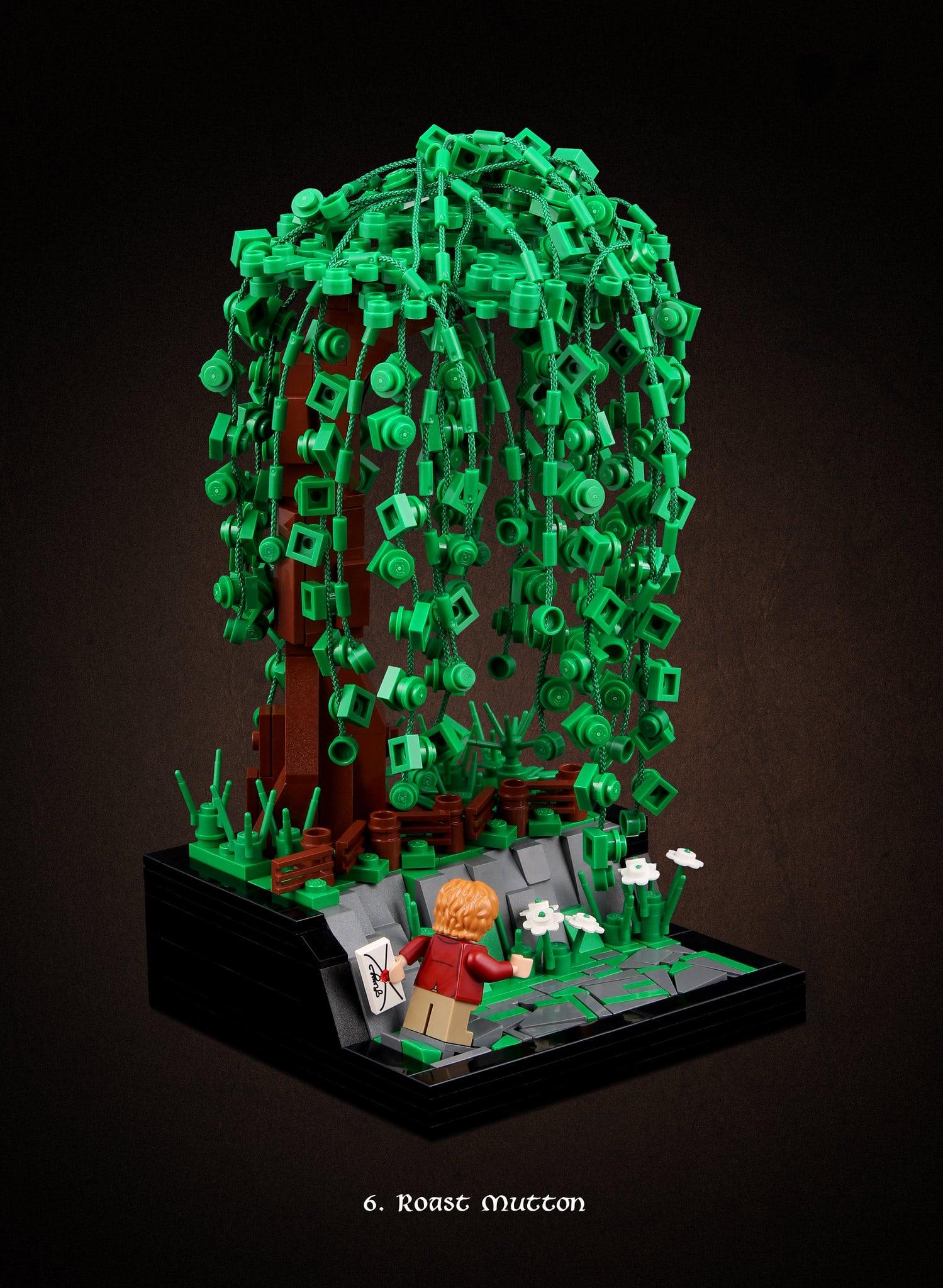 LEGO Hobbit Thorsten Bonsch Vignetten Serie (6)