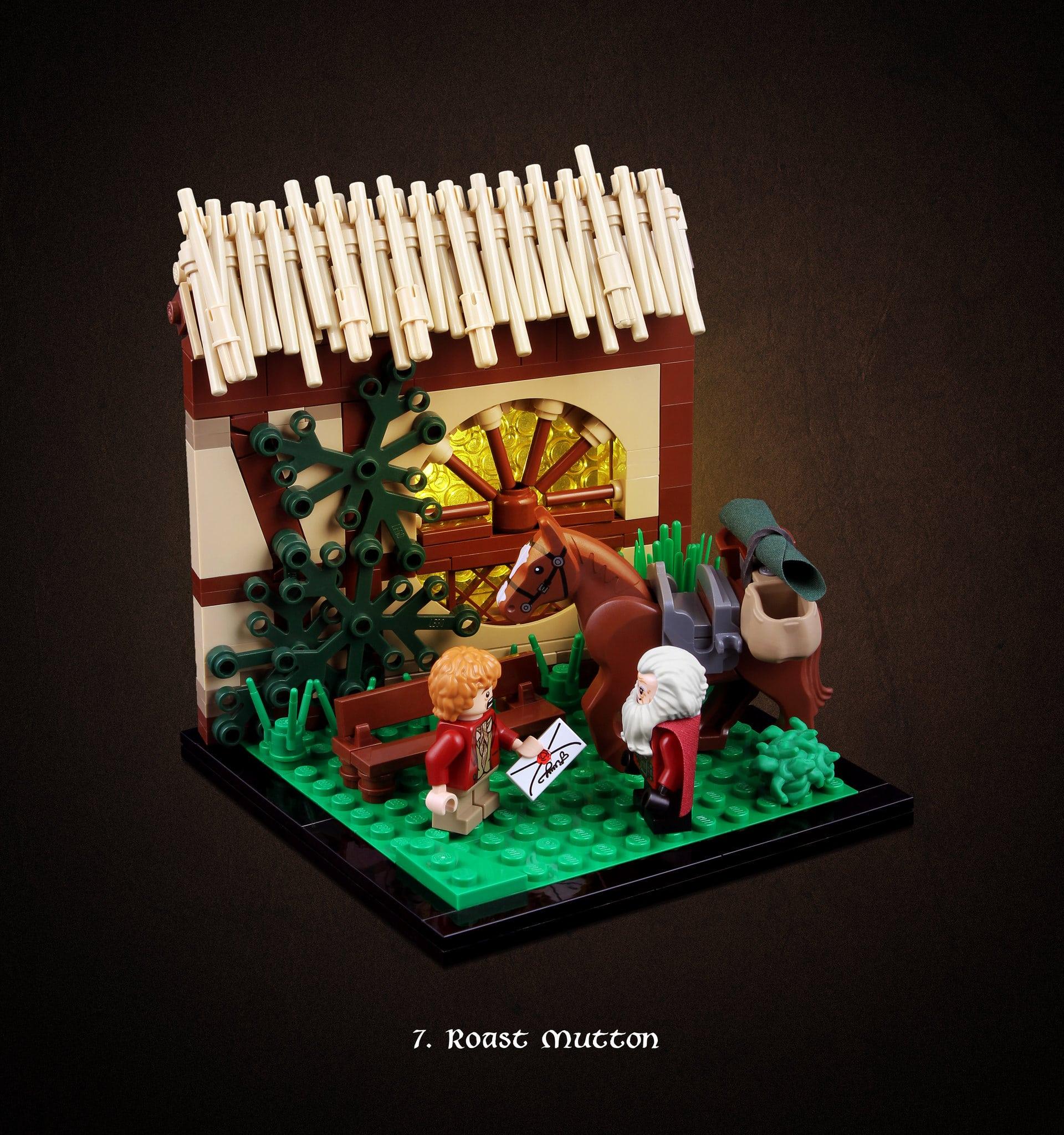 LEGO Hobbit Thorsten Bonsch Vignetten Serie (7)