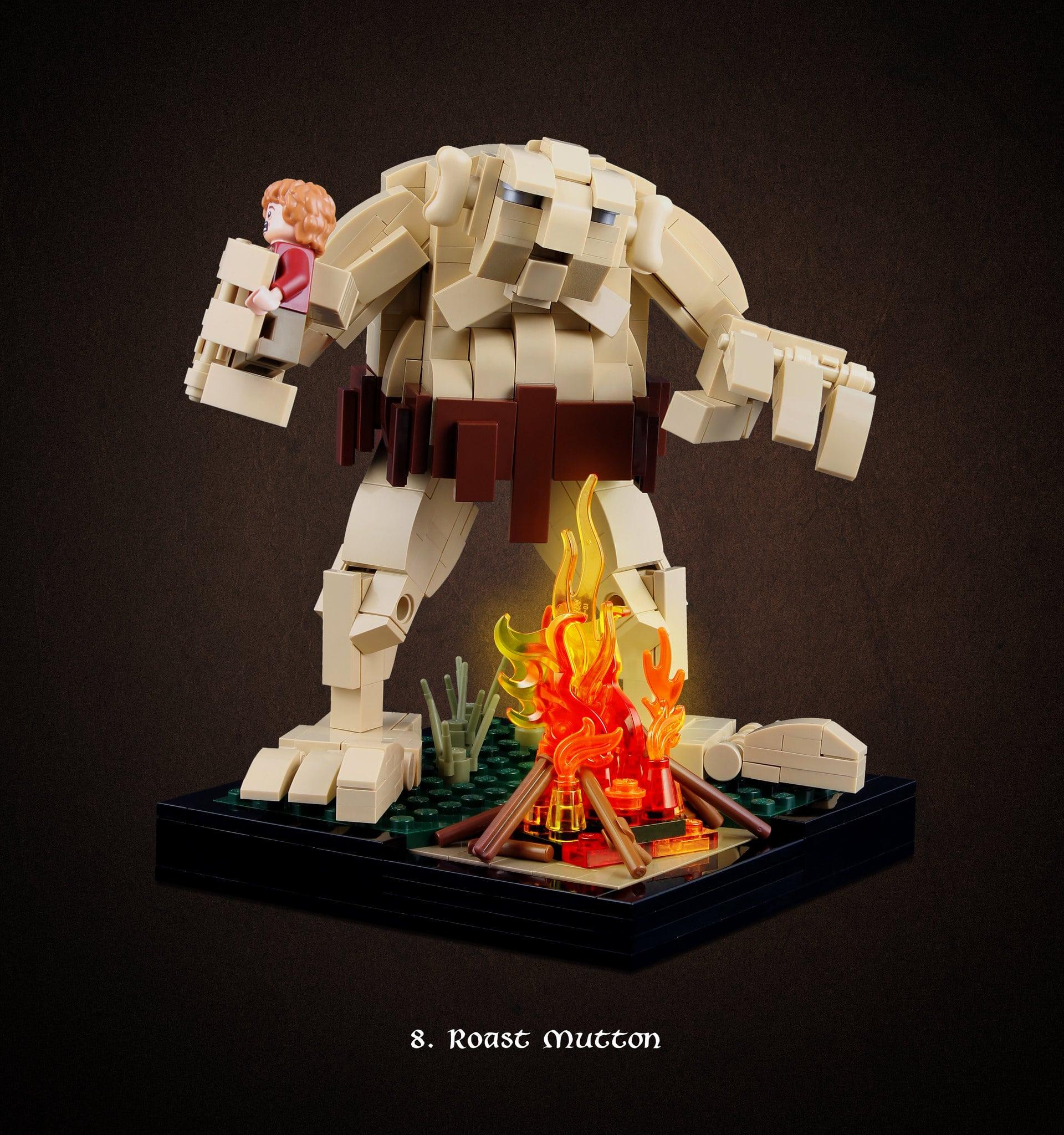 LEGO Hobbit Thorsten Bonsch Vignetten Serie (8)