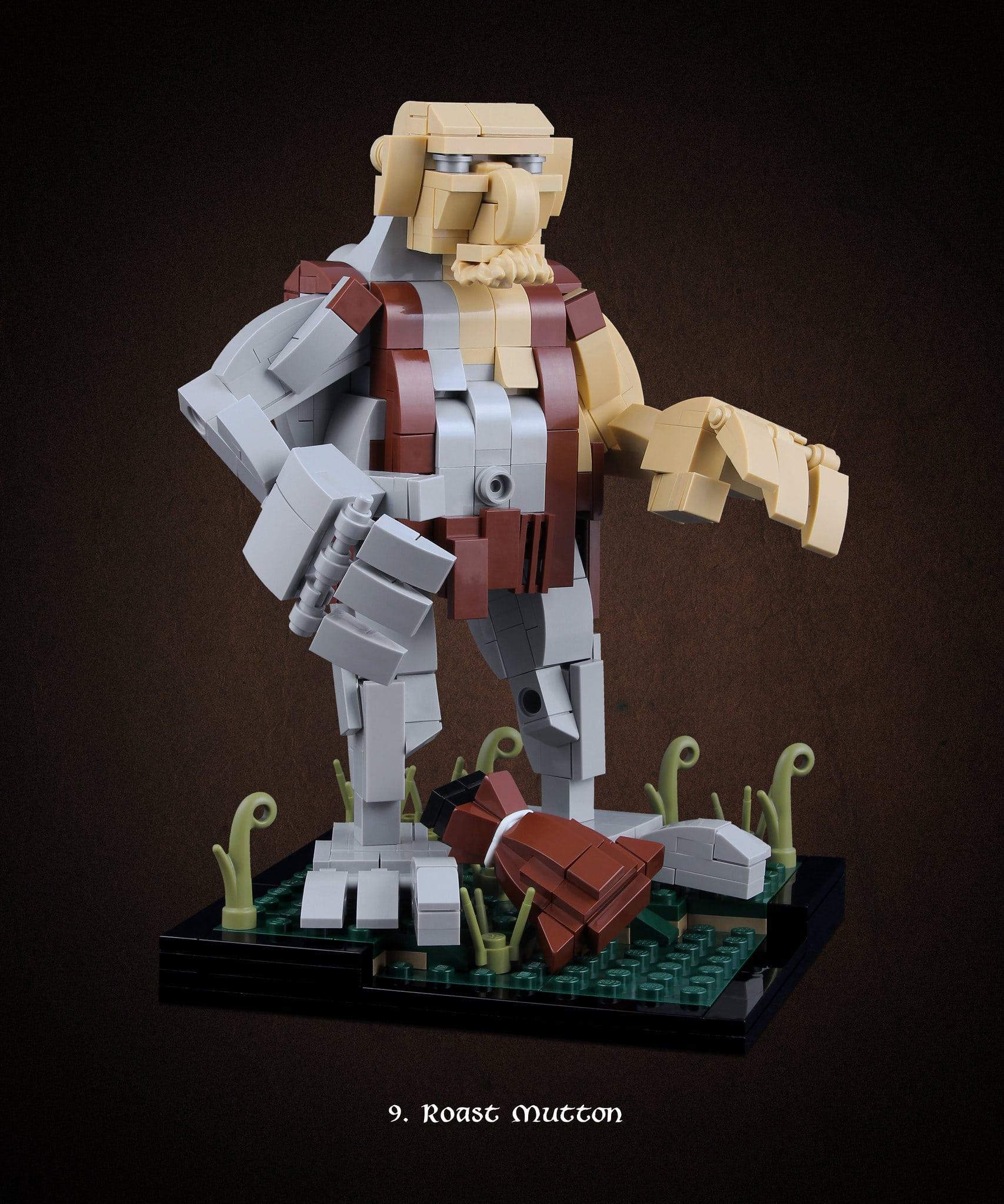LEGO Hobbit Thorsten Bonsch Vignetten Serie (9)