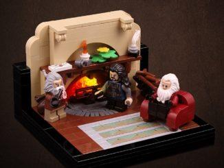 LEGO Hobbit Thorsten Bonsch Vignetten Serie Titel
