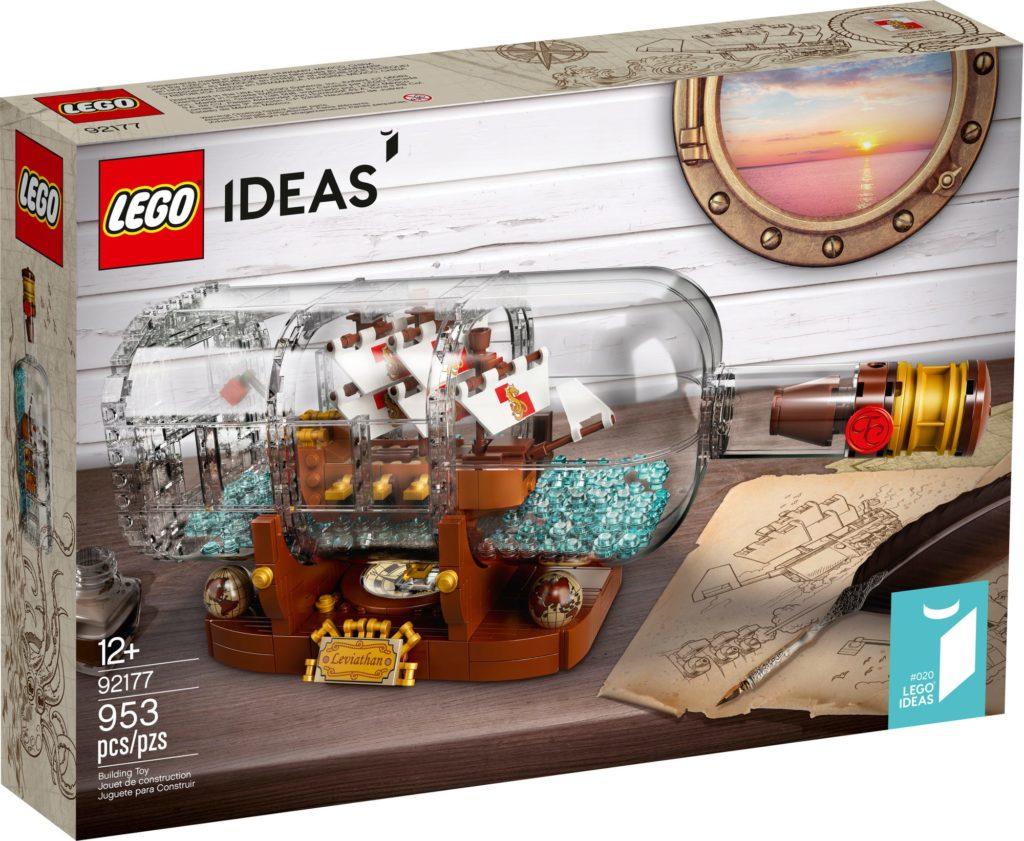 LEGO Ideas 92177 Schiff In Der Flasche 3