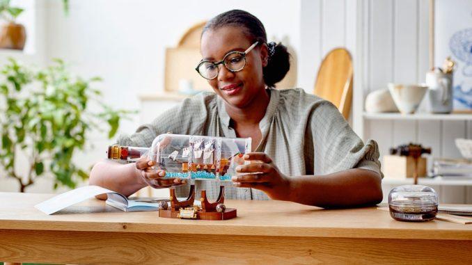 LEGO Ideas 92177 Schiff In Der Flasche Kopie