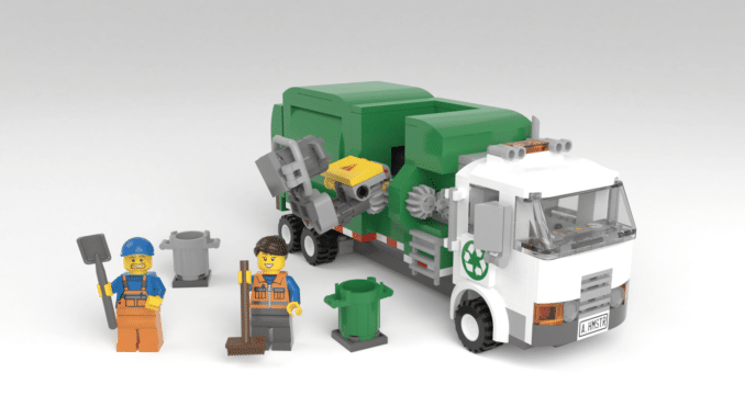 LEGO Ideas Automated Garbage Truck (1)