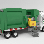 LEGO Ideas Automated Garbage Truck (10)