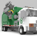 LEGO Ideas Automated Garbage Truck (12)