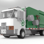 LEGO Ideas Automated Garbage Truck (2)